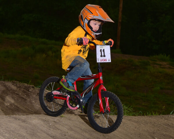 BMX League Photo Day - Rider Action Shot